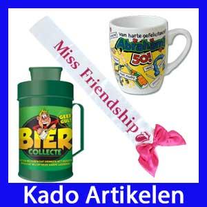 Feestartikelen Kado